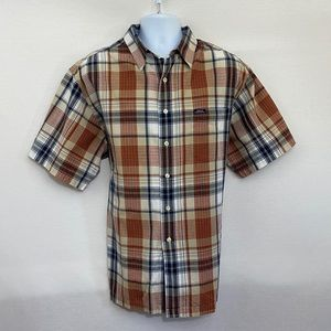 Men's Chaps Ralph Lauren Plaid Shirt Size XL Q-74